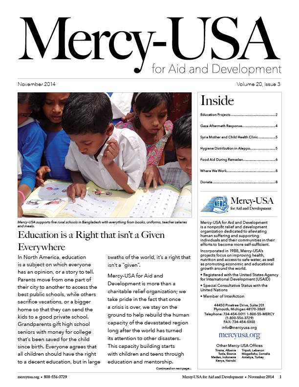 Mercy-USA.March2015NewsletterCover